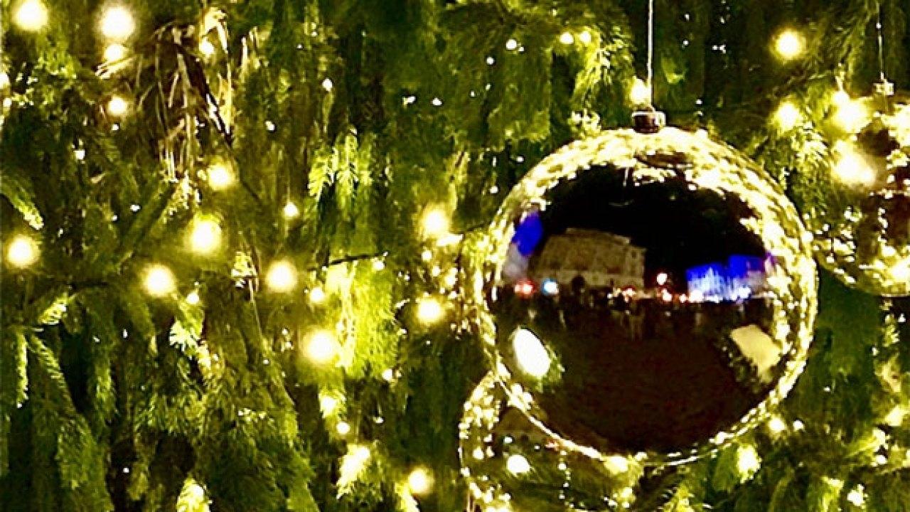 Luci a Natale a Breganzona